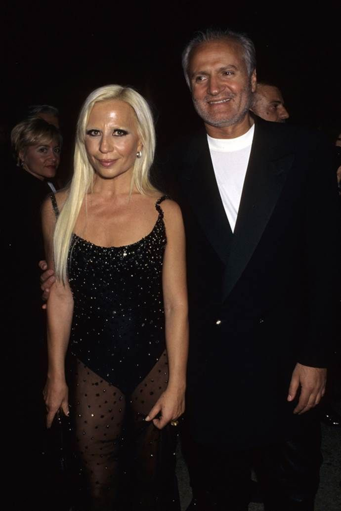 Young Donatella Versace The Evolution Of Donatella Met Gala