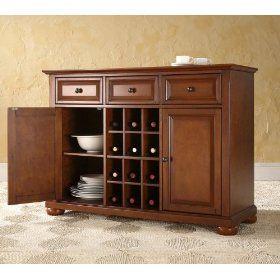 Crosley Furniture KF42001ACH Alexandria Buffet Server Cabinet $399.99