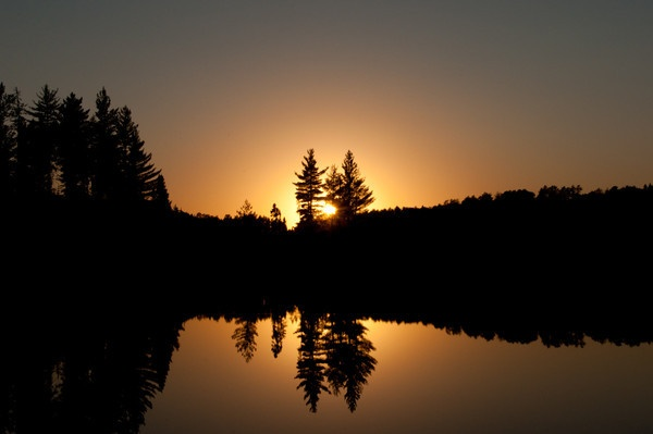 Quetico Provincial Park, Northern Ontario, Canada - my husband took this picture on his canoe trip October 2011.