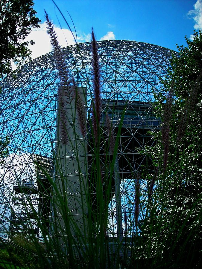 Biosphere:  Expo '67 - Man and His World Pavilion.