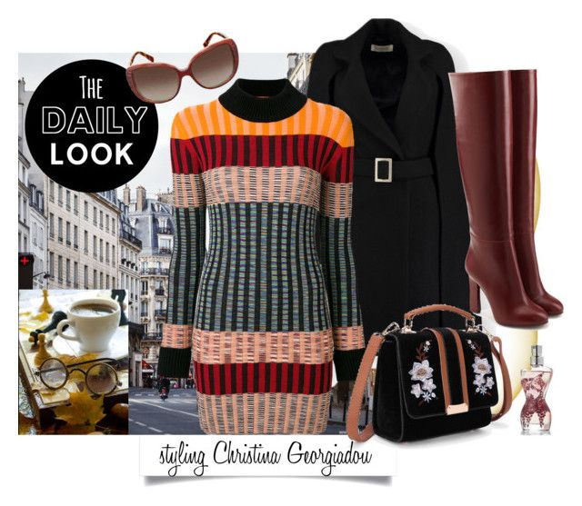Untitled #223 by christina-geo on Polyvore featuring Missoni, Victoria Beckham, Christian Dior and Jean-Paul Gaultier