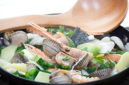This traditional Irish Fish Coddle is a wonderful way to enjoy a variety of seafood in one meal. Description from amazingsouprecipes.com. I searched for this on bing.com/images