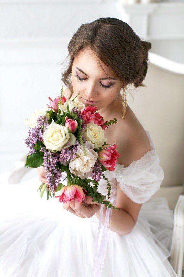 Букет невесты с пионами  Флорист Anna Shelli