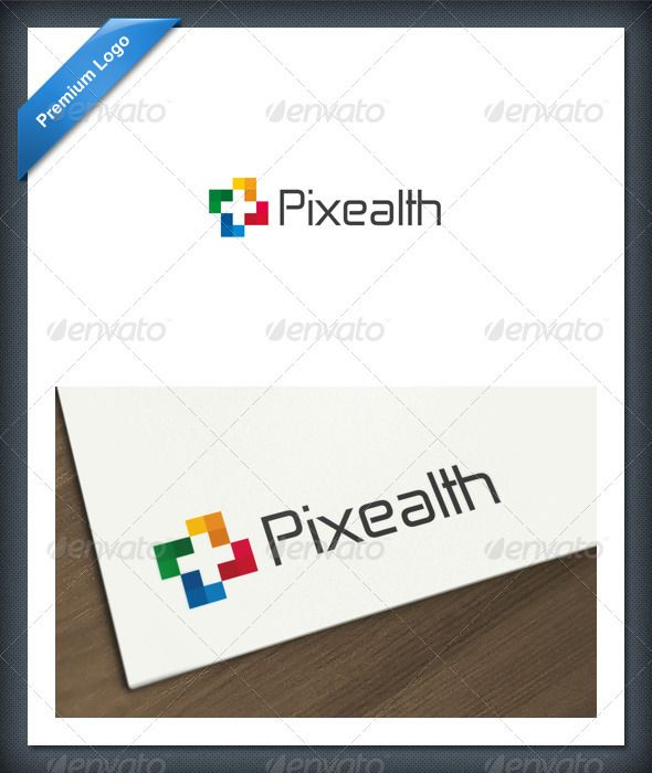 Pixel Health Logo template #GraphicRiver Pixealth is a logo that can be used by health-related companies, hospitals and clinics, medical institutes, medical products, medicines, medical coverage, among other uses. Its design is very simple and is easy to configure. This lsito to print. Customizable 100% CMYK AI – EPS Font used Zekton Created: 19March12 GraphicsFilesIncluded: VectorEPS #AIIllustrator Layered: No MinimumAdobeCSVersion: CS Resolution: Resizable Tags: brand #branding #business #...