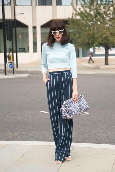 Natalia Ferviu pantalone paris fashion week 2014