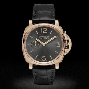 NEW  Officine Panerai Luminor Due 3 Days Oro Rosso - 42mm PAM00677 red gold #luxury #watchgourmet #instadaily #watch #instacool #instalike #instaphoto #musthave #instapic #hot #nice #instawatch #design #style #cool #classy #time #best #instamood #me #love #ourheartdoesntbeatitticks #panerai by watchgourmet #panerai