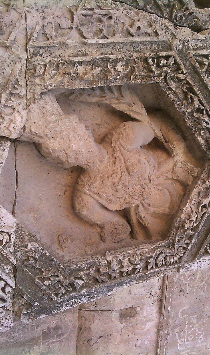 Baalbek roof sculpture (Ceres)