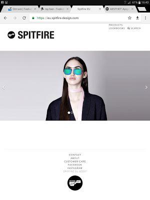 ΕΝΔΥΘΙ: Spitfire sunglasses