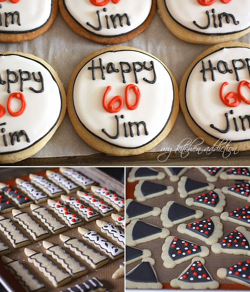 Surprise! (60th Birthday Cookies)