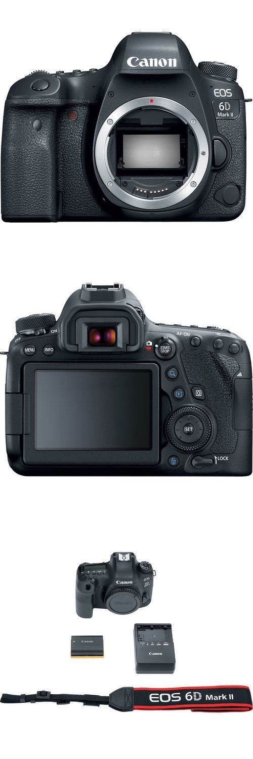 photo and video: Canon Eos 6D Mark Ii Dslr Camera (Body Only) -> BUY IT NOW ONLY: $1903.49 on eBay!