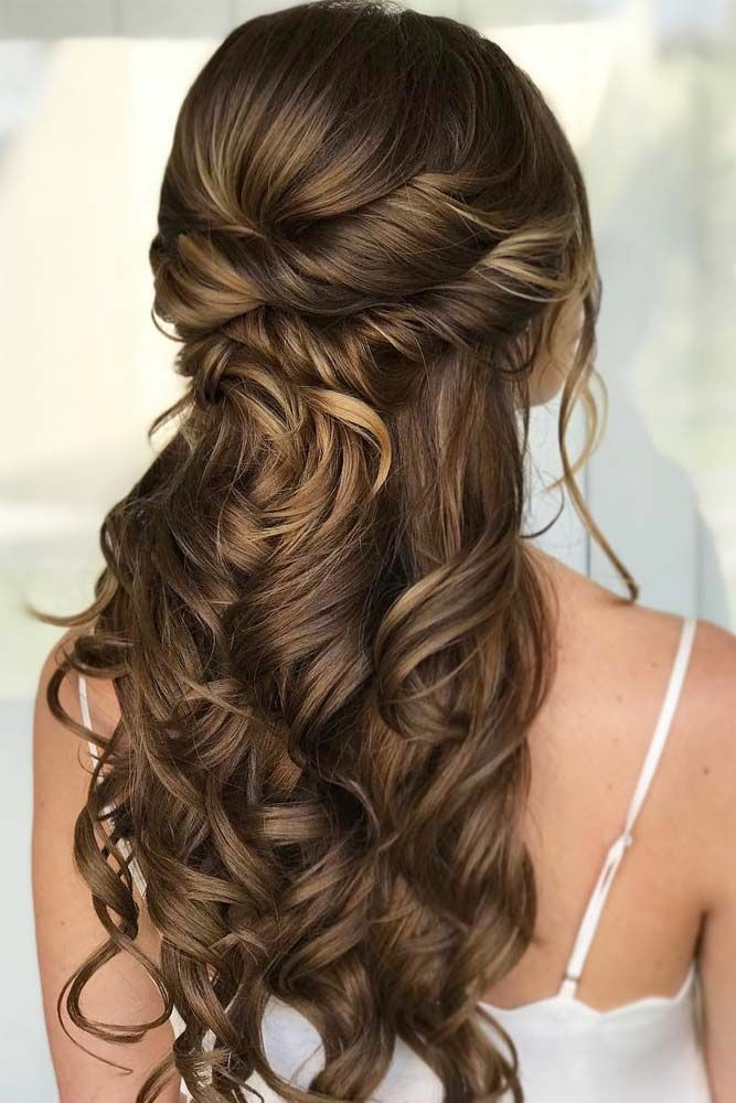 68 Stunning Prom Hairstyles For Long Hair For 2020 Long Hair Styles Wedding Hair Half Prom Hairstyles For Long Hair