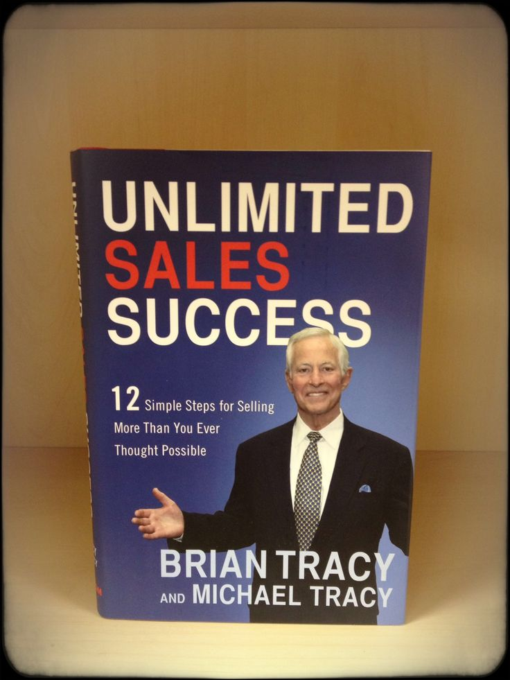 unlimited sales success brian tracy pdf