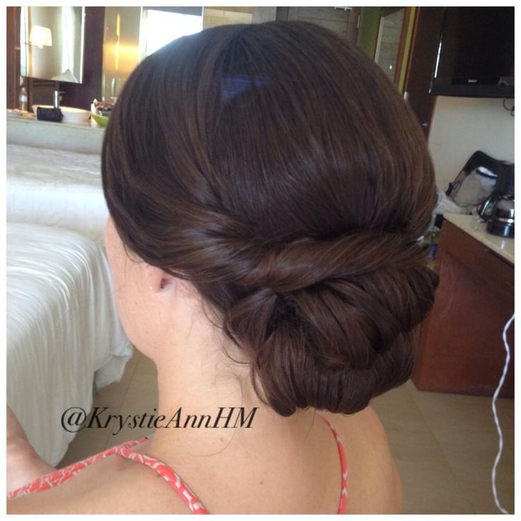 best brunette updo s images on pinterest wedding hair