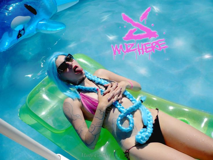 Pool Party Jinx cosplay by Martush