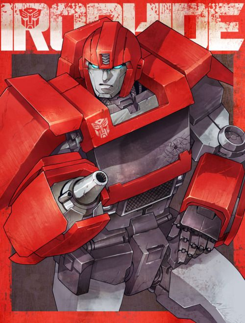 There's not too many pics of just Ironhide.  I'm happy for this one!