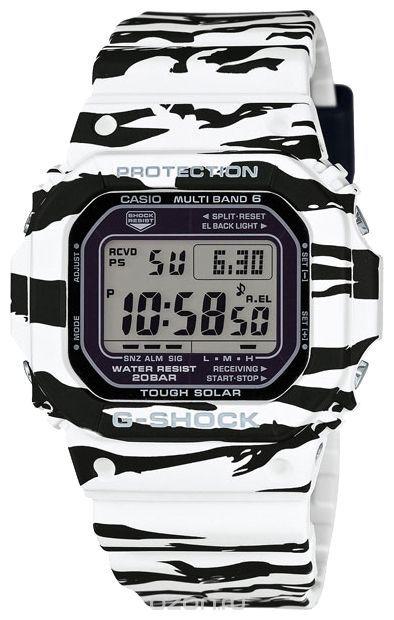 Часы наручные мужские Casio, цвет: зебра. GW-M5610BW-7E