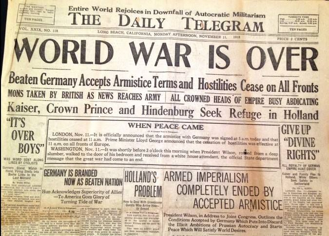 How were the Central Powers defeated in World War 1?