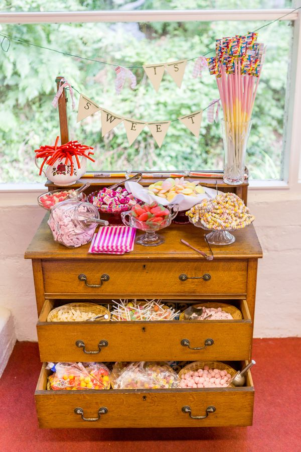Wedding Sweetie Table Ideas http://www.isleofwightweddingphotographer.co.uk/