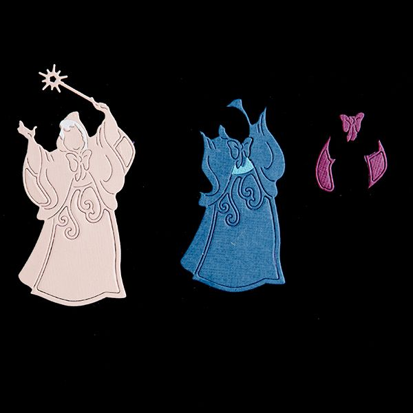 Disney Princess Fairy Godmother Die and Face Stamp (384514) | Create and Craft
