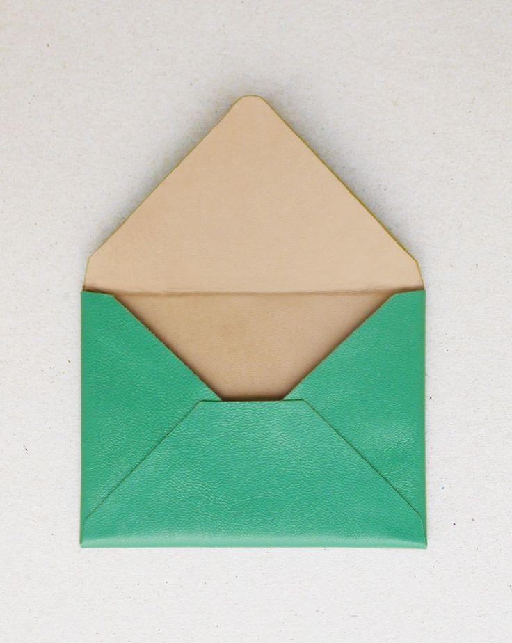 A N V E — ENVELOPE turquoise: Business Cards, Business Card Holders, Anve Envelope Turquoise, Colour Bases, Envelope 3, Colored Envelopes