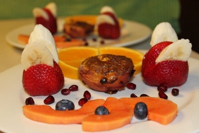 one of our fruit entree`s
