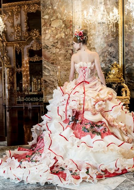I have no idea what kind of occasion someone would wear this to but it's unbelievably stunning!