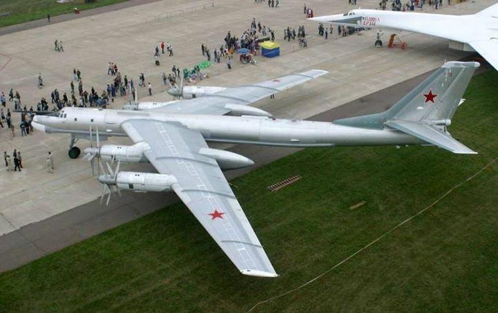 "Russian Air Force Tupolev Tu-95MS ""Bear"""