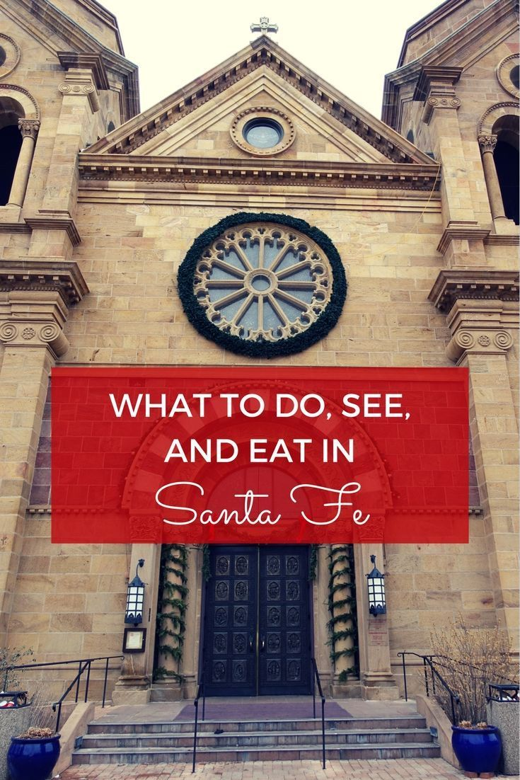 From skiing to shopping, there are plenty of things to do in Santa Fe, New Mexico. Add in art galleries and lots of great food, and there's also lots to see and eat.