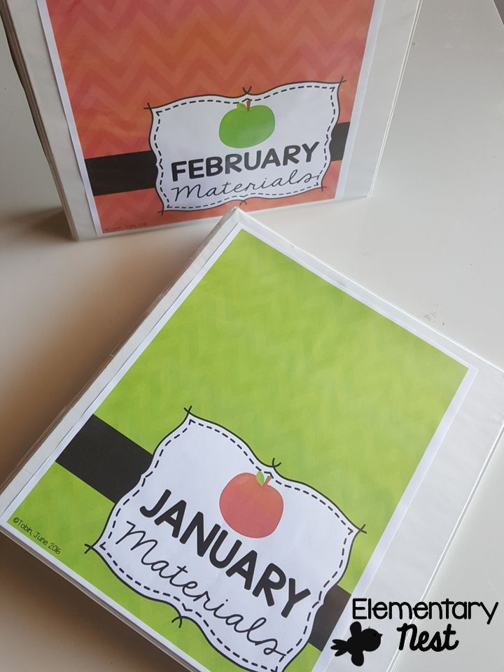 Teacher binder covers- shown in apple classroom theme. Keeps your paperwork in order for classroom organization. Also available in 13 other classroom themes.
