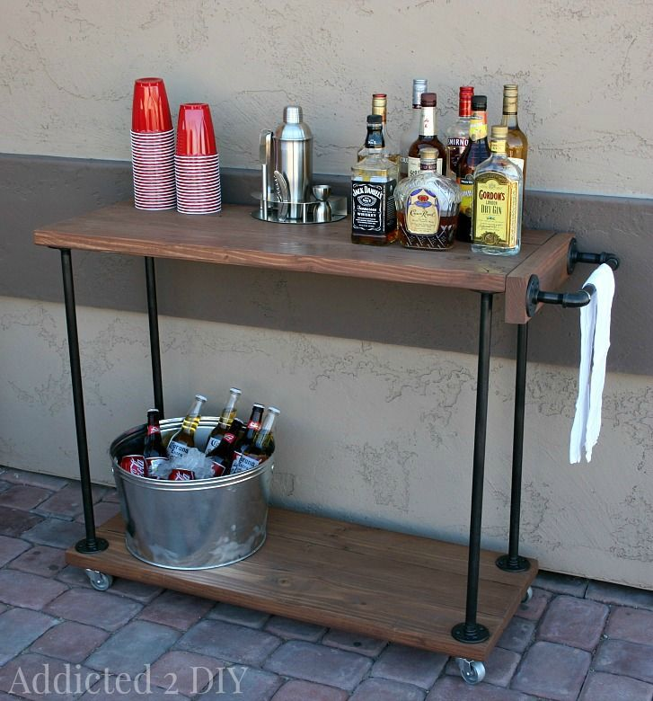 1000 Ideas About Rustic End Tables On Pinterest: 1000+ Ideas About Rustic Industrial Furniture On Pinterest