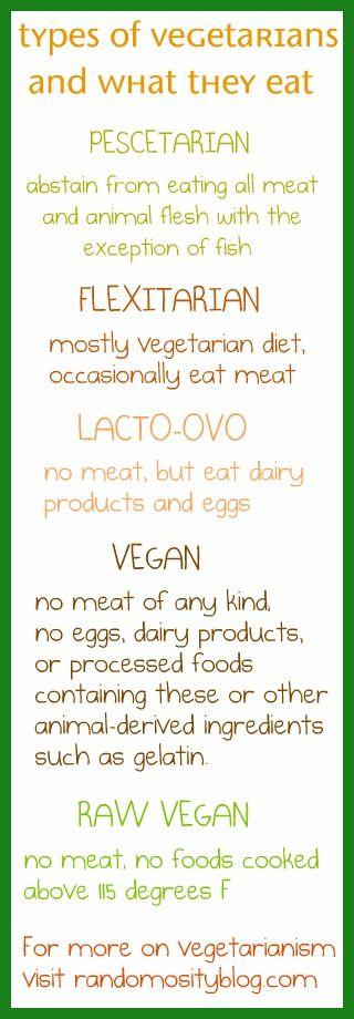 What type of vegetarian are YOU? I'm a lacto-ovo-veggiehead!
