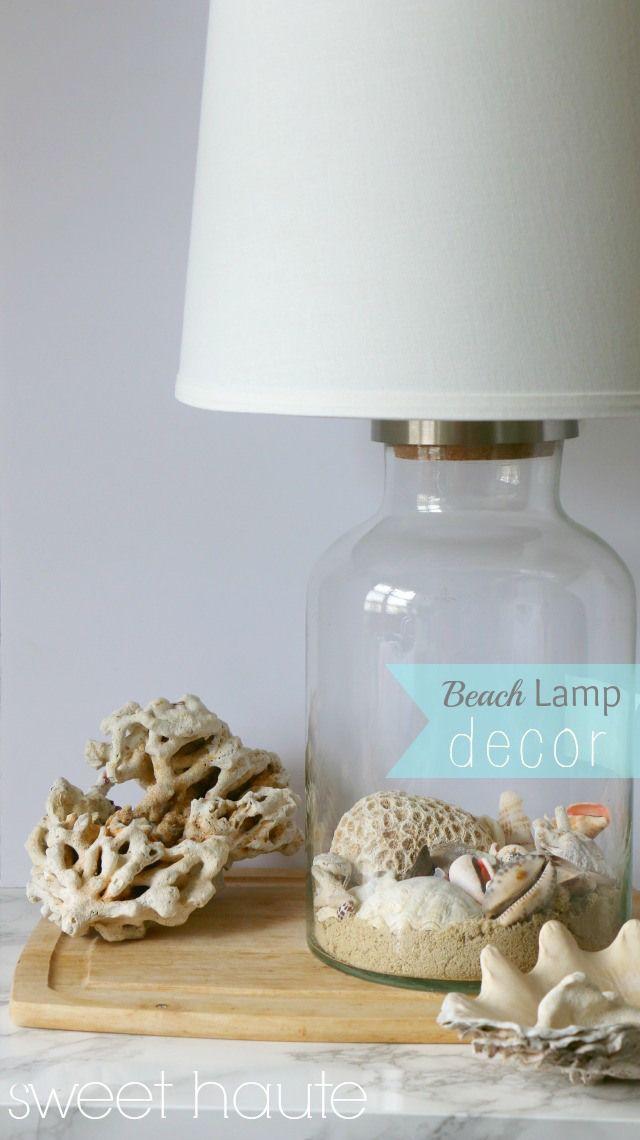 Beach Decor diy home living room ideas project diy- SWEET HAUTE