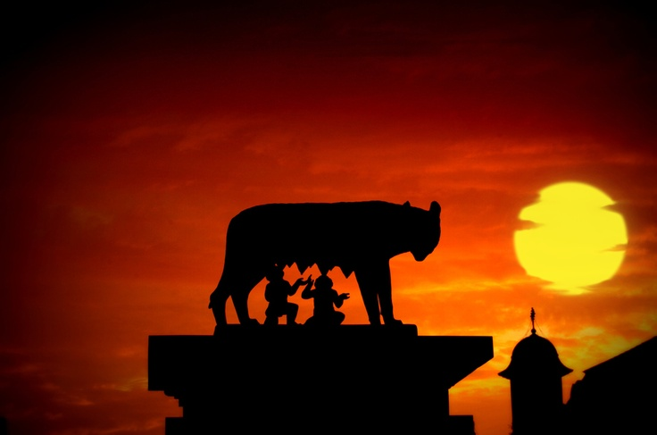 Romulus and Remus statue, Cluj, Romania by Schipor Catalin, via 500px