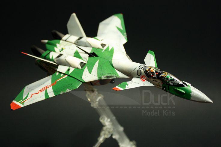 "Consulta mi proyecto @Behance: ""VF-11D Thunder Focus"" #macross #hasegawa #duckmodelkits #mecha https://www.behance.net/gallery/32002117/VF-11D-Thunder-Focus"