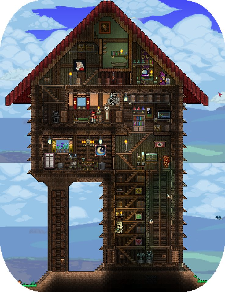 Cool terraria houses google search terraria for How to find a good home builder