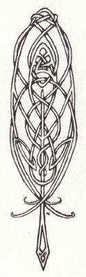 Tatouage: Tribal feather tattoo_19