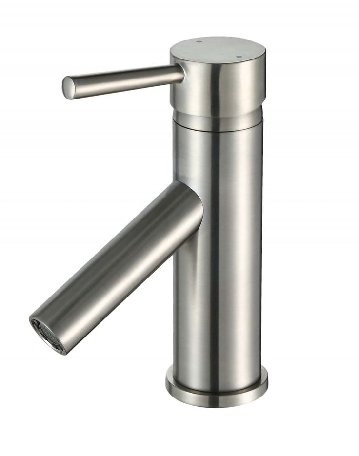 Ultra Faucets UF36803 Euro Collection Single-Handle Lavatory Faucet with Straight Spout, Brushed Nickel – Bath Faucets – Bed & Bath - GreyDock.com