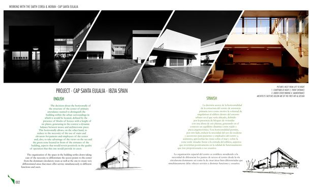 architecture portfolio layout