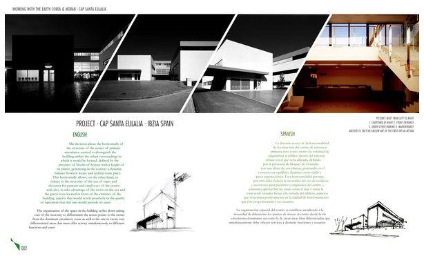 design portfolio layout architecture portfolio