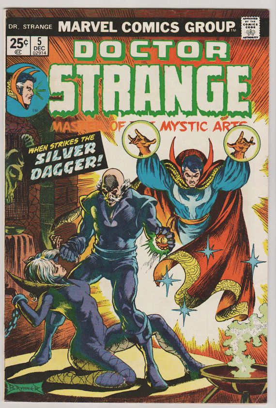 buy cheap puma shoes online india Doctor Strange V2 5   VF NM Dec 1974 Marvel by RubbersuitStudios  drstrange  comicbooks
