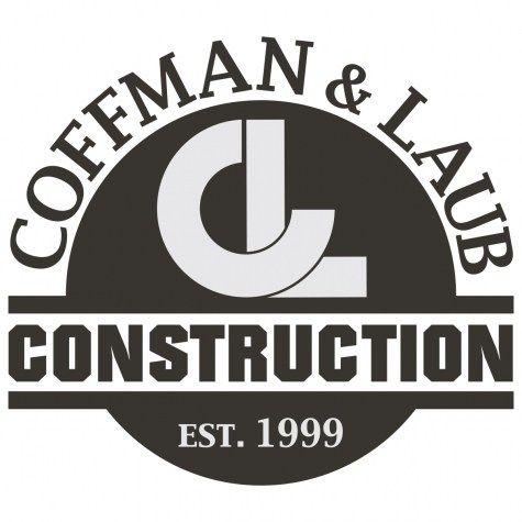 construction logo concrete construction logo masculine black and white