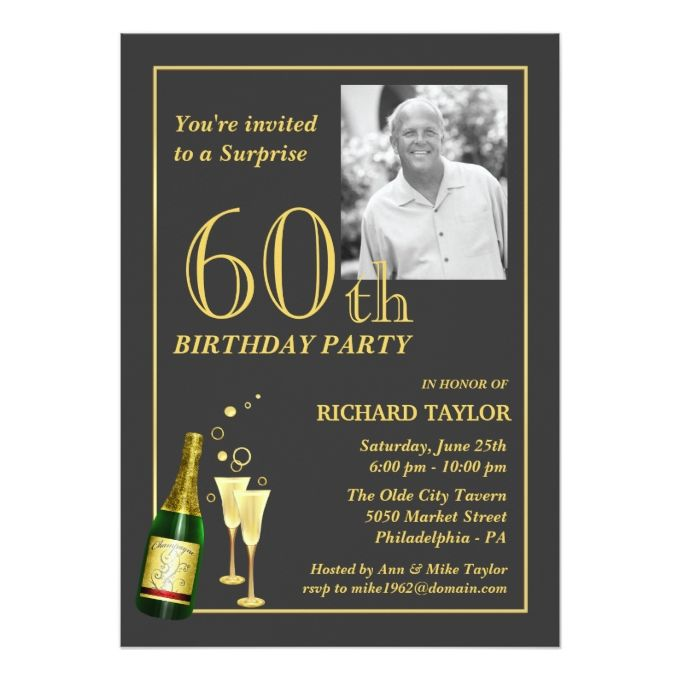 best 25+ 60th birthday invitations ideas on pinterest | 70th, Birthday invitations