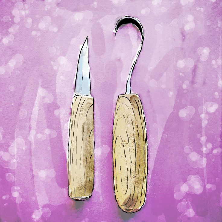 Buying guide for your first spoon carving tools