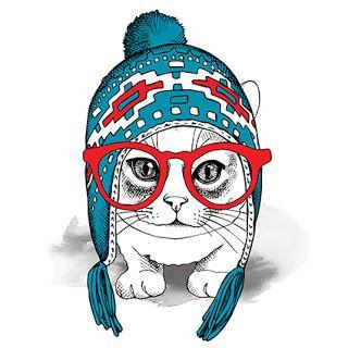 DISEÑOS ANIMALS CAT PORTRAIT - Sublimacion y serigrafia para todos