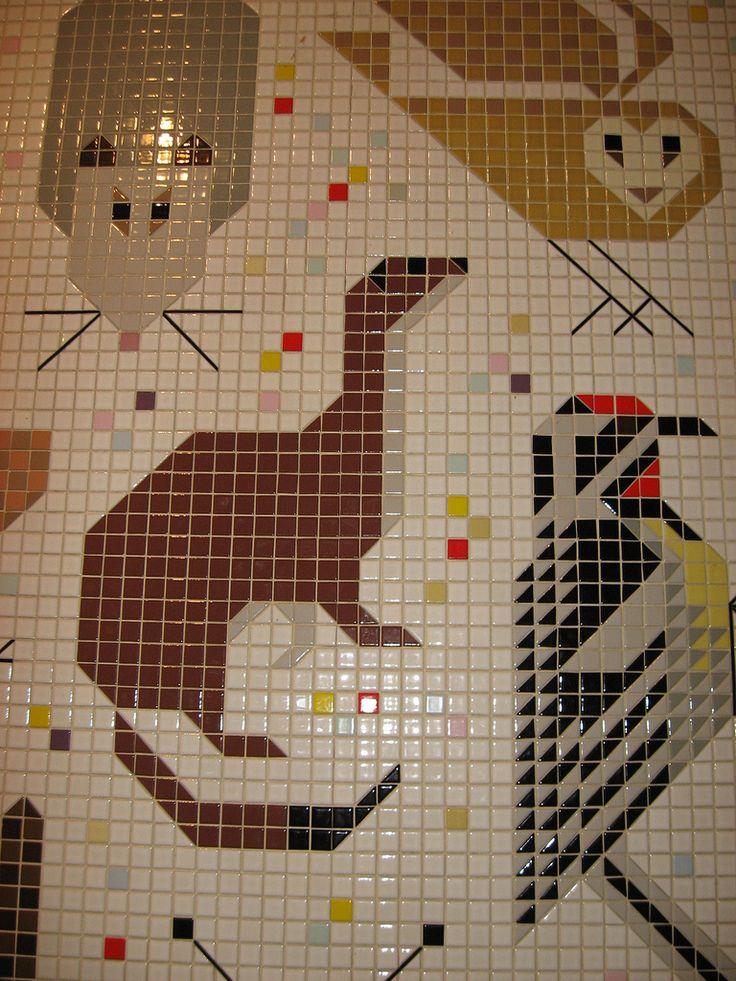 Charley harper mural for Charley harper mural