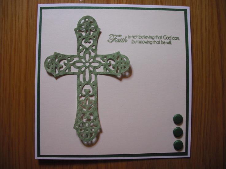 die cut cross by Cottage Cutz