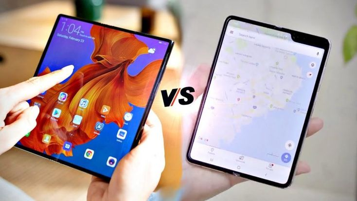 Huawei Mate X Vs Samsung Galaxy Fold If You Just Sci Fi Movies Foldable Phones Are The Future A Tablet As Powerful As A Comp Huawei Samsung Galaxy Huawei Mate
