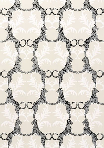 cheetah wallpaper // Thibaut #silver