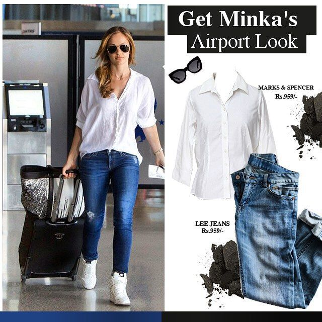 Lazy Sunday? Get inspired by Minka's relaxed airport look #minka #minkakelly #getthelook #celebstyle #model #hollywood #stylesteal #sundays #fashiondiaries #style #inspiration