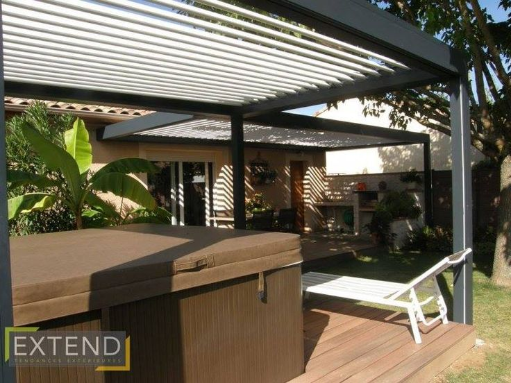 25 melhores ideias sobre pergola lames orientables no pinterest lames de terrasse modele de. Black Bedroom Furniture Sets. Home Design Ideas